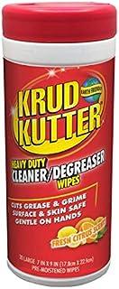 KRUD KUTTER 346527 Heavy Duty Cleaner / Degreaser Wipes (30 Sheets)