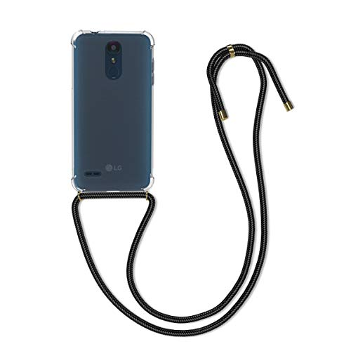 kwmobile LG K8 (2018) / K9 Hülle - mit Kordel zum Umhängen - Silikon Handy Schutzhülle - Transparent