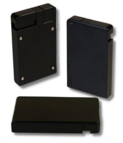 Porsche Design Feuerzeug PD 9 Black inkl. Lifestyle-Ambiente Tastingbogen