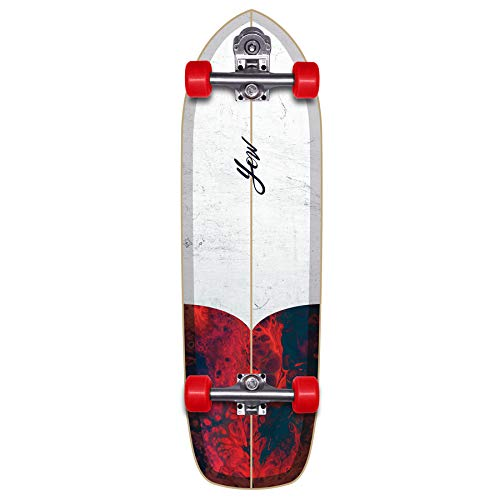 YOW Chicama 33' The First Surfskate Skateboard, Adulti Unisex, Multicolore (Multicolore)