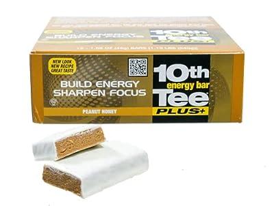 10th Tee Plus+ Peanut Honey Bars