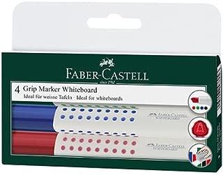 FABER-CASTELL 5062358506 Kids Beyaz Tahta Kalemi 6'lı 6 Renk