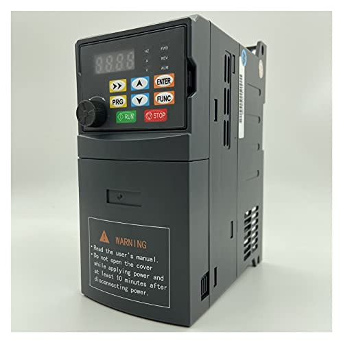 inverter VFD Inverter 1.5KW/2.2KW/4KW/5.5KW Frequency Converter AT1 3P-Output CNC Spindle Motor Speed Control VFD Converter variable frequency drive ( Color : Model 360 , Output Voltage : 380V )