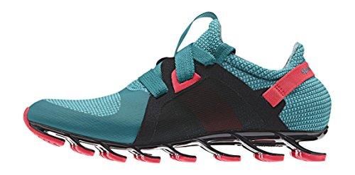 adidas Springblade Nanaya, Sneaker Donna Multicolore Verde/Rojo/Verde (Eqtver/Rojimp/Verimp) 36 2/3
