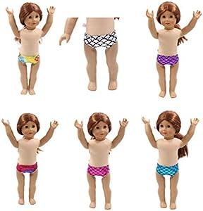 Uteruik - Ropa interior para muñeca American Girl, My Life, de 46 cm, accesorio de disfraz