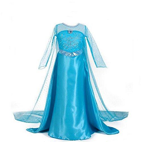 Kleine meisjes Elsa Anna Fancy aankleden prinses sneeuw koningin kostuum jurken voor kinderen
