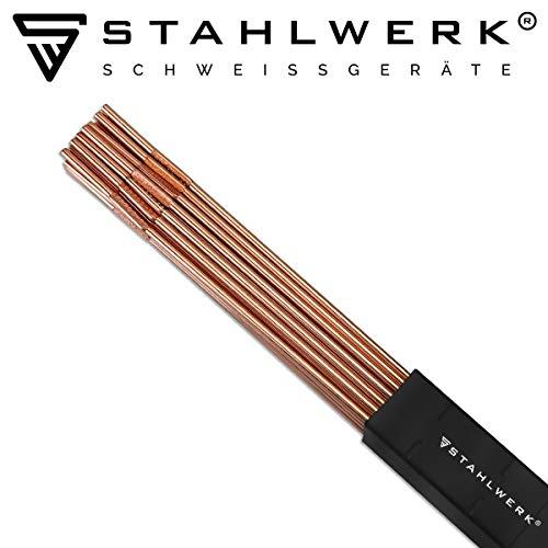 STAHLWERK WIG Schweißstäbe ER70S-G3 Stahl/Ø 1,6 x 500 mm / 2 kg WIG Schweißzusatz Zusatzwerkstoff