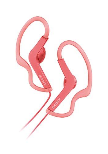 Sony MDR-AS210AP Sport-Kopfhörer (Spritzwassergeschützt, integriertes Mikrofon) pink