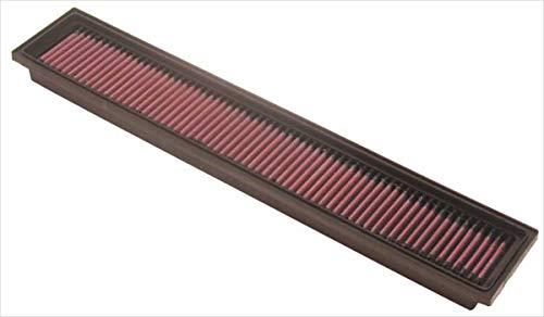 K&N 33-2193 Motorluftfilter: Hochleistung, Prämie, Abwaschbar, Ersatzfilter, Erhöhte Leistung, 2000-2002 (C200, C230 Kompressor)