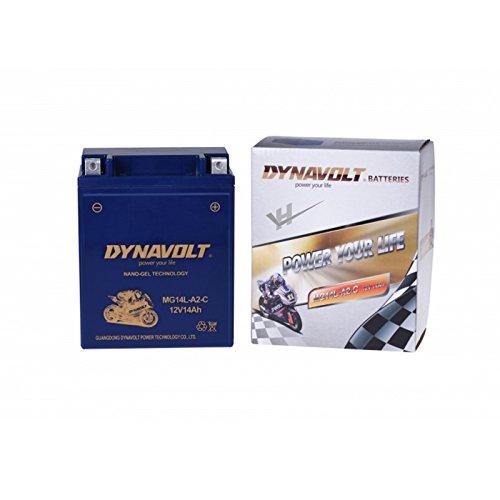 MG14L-A2-C (YB14L-A2) GEL, DIN51411(G) wartungsfreie Motorrad Dynavolt GEL Batterie, 12V, 14A