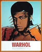 ポスター アンディ ウォーホル モハメド アリ 1977 額装品 ウッドベーシックフレーム(オレンジ)