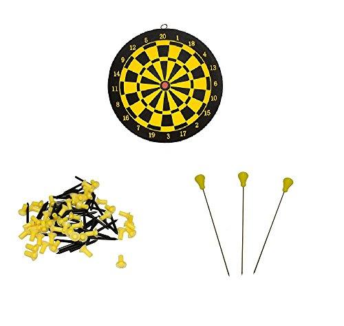 BKL1® Blasrohr Set Dartscheibe Nagelpfeile Nadelpfeile Darts