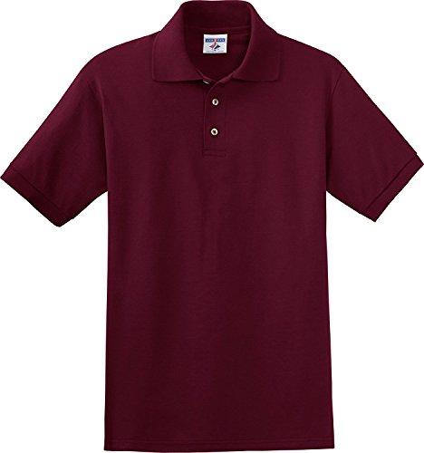 Jerzees Maillot de sport en jersey 170,1 g (J100) 2X bordeaux (US)