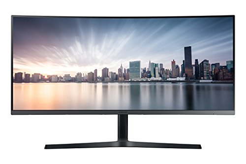 Samsung C34H892 Monitor Curvo Ultrawide, 34 Pollici, UWQHD, 3440 x 1440, 4 ms, 21:9, 100 Hz, 1440p, 1 HDMI, 1 Display Port, 1 USB-C, Quantum Dot, Regolabile in Altezza, Multitasking, Argento, VESA