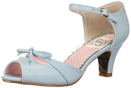 Bettie Page Damen BP250-TEGAN Sandalen mit Absatz, blau, 42 EU