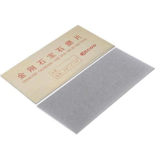 Whetstone quadrato resistente, coltello da frutto in metallo realizzato in metallo 17 * 7.5cm coltello da cucina