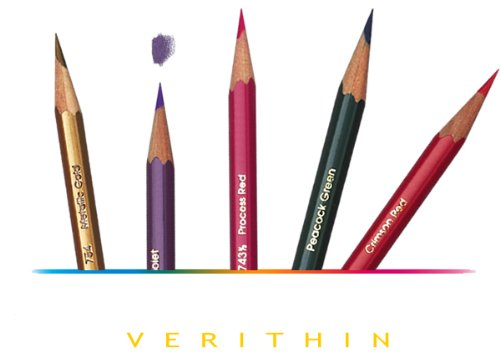 Prismacolor Verithin Colored Pencil, Dahlia Purple, Single (2459)