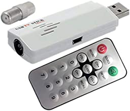 AllAboutAdapters Universal Analog USB-Based TV Tuner Video Capture DVR for PC