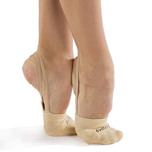 dvillena - Mod. Entrenamiento Calcetin | Famosa Marca de Punteras Gimnasia Rítmica Niña y Mujer | Las Puntas Que Usan Grandes Gimnastas Mundiales | Bailarinas Aérobica Deporte Danza Zapatillas Ballet