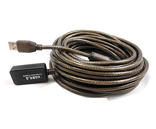 Link-e - Cable alargador USB 2.0, macho a hembra, 5o 10m de...