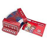 New Classic Toys 10055-NEW - Acordeón con Libro Musical