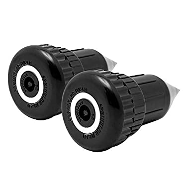 Best Hide A Key Spiked Sprinkler Head Hider By HomeChamps Discreet Durable Indestructible Key & Cash Outside Hiding Vault Holder Easy to Install - 2 Pack