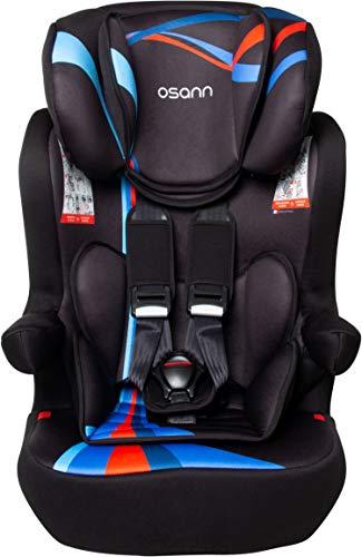 Osann 102-123-265 Kinderautositz I-Max SP ohne Isofix Gruppe 1/2/3 (9-36 kg) Blue