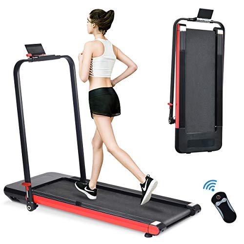 BiFanuo 2 in 1 Folding Treadmill, Smart Walking Running Machine with Bluetooth Audio...
