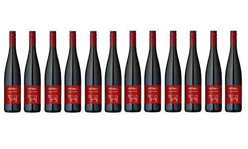 2019er Metzger Prachtstück Spätburgunder Cuvée Rot Wein QbA trocken Deutschland aus der Pfalz (12 Flaschen)