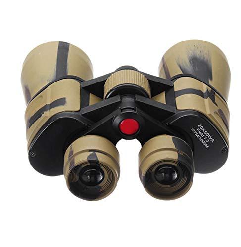 HAO 20x50 Zoom HD Prismáticos de Camuflaje Visión Nocturna Nocturna Observación de Aves Telescopio de 50 mm para la Caza Concierto Viajes Deportes al Aire Libre Telescopio portátil