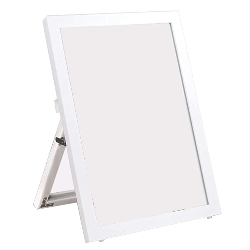 すみません家禽二層FY@ 鏡靴屋床立て靴鏡デスクトップ美容メイクミラースタンド付き40 * 55cm - 黒、白 HD