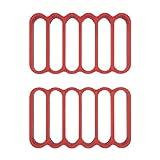 OXO Good GripsTrinchar, silicona, Rojo, 35,56x 20,32x 12.7cm