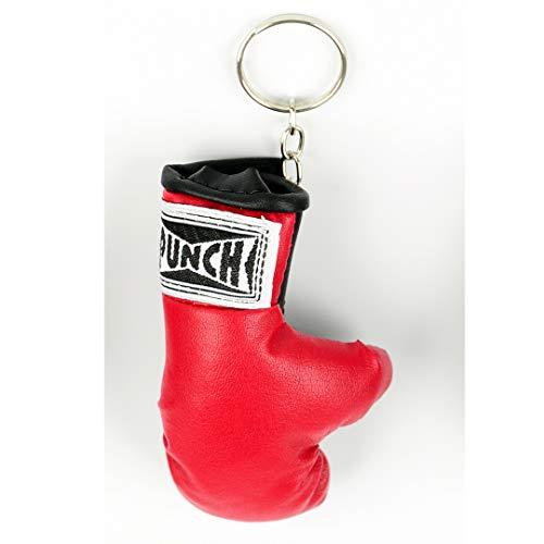 Chaveiro Luva De Boxe Punch Unissex Único Vermelho