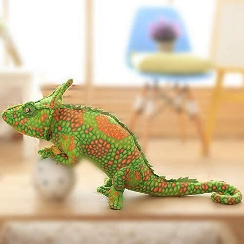 Knuffels Drop 80cm jongens en meisjes verjaardag Lizards pop kussen creatieve persoonlijkheid simulatie spoof glimlach kameleon pluchen speelgoed dljyy