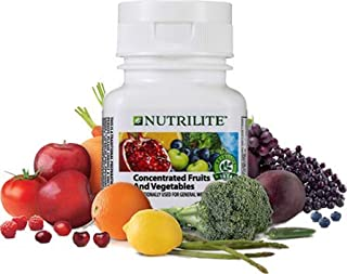 Nutrition amway Concentrated Fruits and Vegetables (60N Tablets)