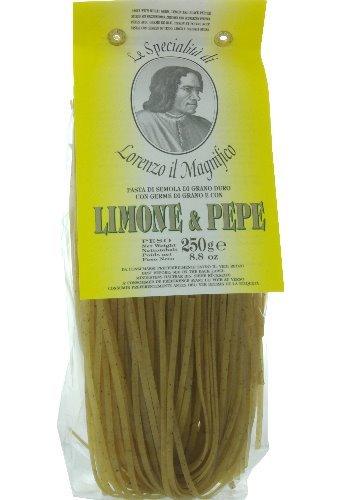 Lorenzo il Magnifico Linguine al Limone e Pepe mit Limonen & Pfeffer - 250 Gramm