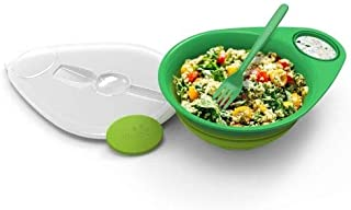 Squish 5 Piece Collapsible Salad Set - Green