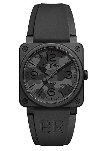 Bell & Ross BR03-92 Automático 42mm Negro Camo Hombres BR0392-CAMO-CE/SRB