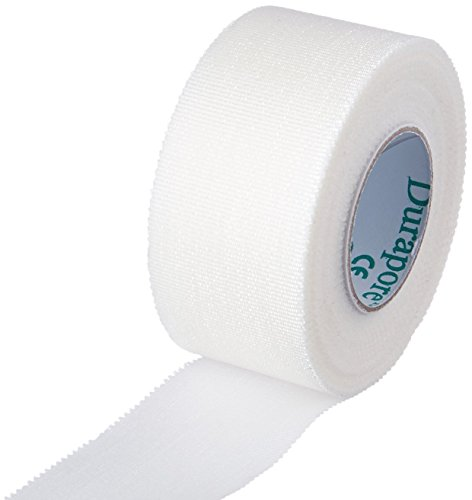 Durapore Medical Tape, Silk Tape - 1 in. x 10 Yards - Each Roll - Pack of 2
