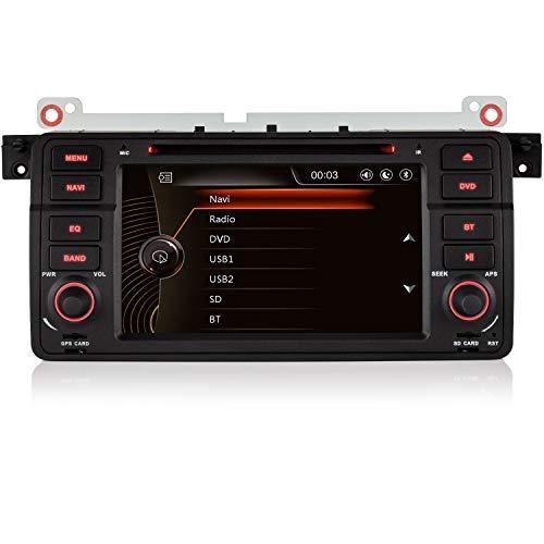 iFreGo 7 Pulgadas 1 DIN con Pantalla táctil, Radio de Coche, navegación...