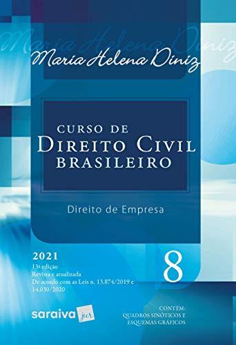 Curso De Direito Civil Brasileiro - Vol. 8 - 13ª Edição 2021: Volume 8