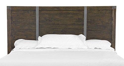 Magnussen Pine Hill Panel Bed Headboard, Queen, Rustic