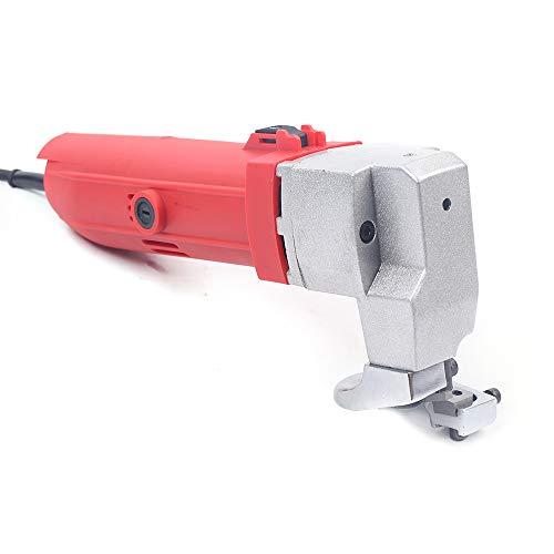 Cesoie elettriche 500 W forbici elettriche per lamiera 2000 giri/min, forbici per lamiera, utensili per tagliare piastre di ferro, piastre in acciaio, spessore di taglio 2,5 mm