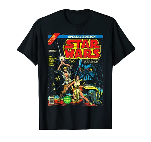Star Wars Special Edition Comic Book Graphic T-Shirt