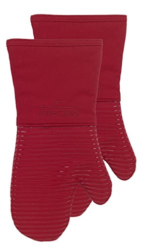 All-Clad Textiles Oven Mitt, 2 Pack, Chili