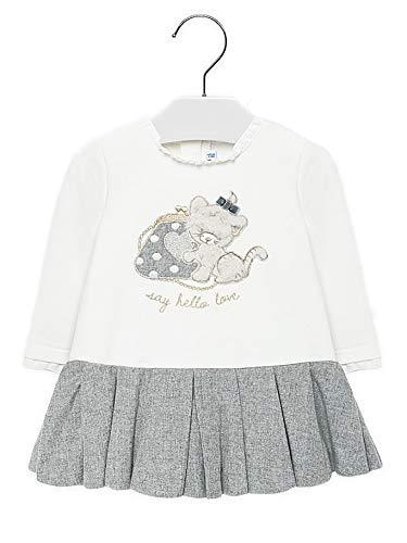 Mayoral 19-02912-028 - Vestido para bebé niña 24 Meses