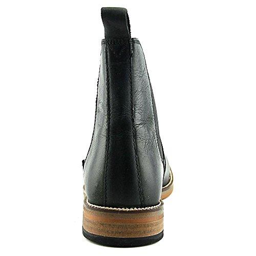 Crevo Mens Denham Chelsea Boot,Black Leather,US 11 M