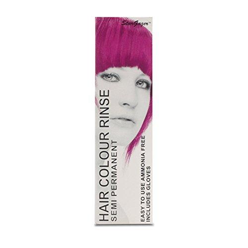 2 x Stargazer Semi Permanent Magenta Hair Colour Dye