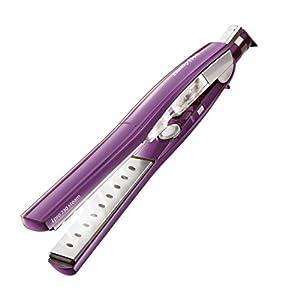 BaByliss iPro 230 – Plancha de vapor para cabello, color púrpura