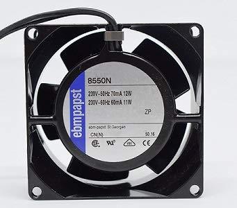 EBM PAPST-Ventilador para cassette,insertable,ventilador axial 80x80x38mm,aspas metálicas,super silencioso